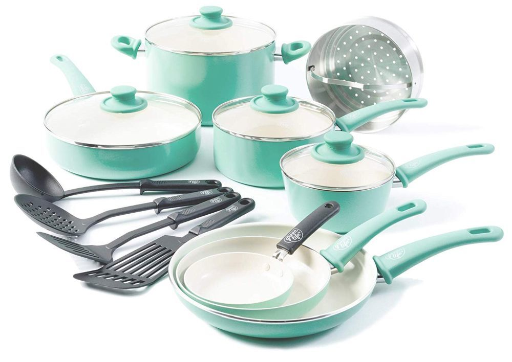 GreenLife Soft Grip Ceramic Nonstick Cookware Set Review