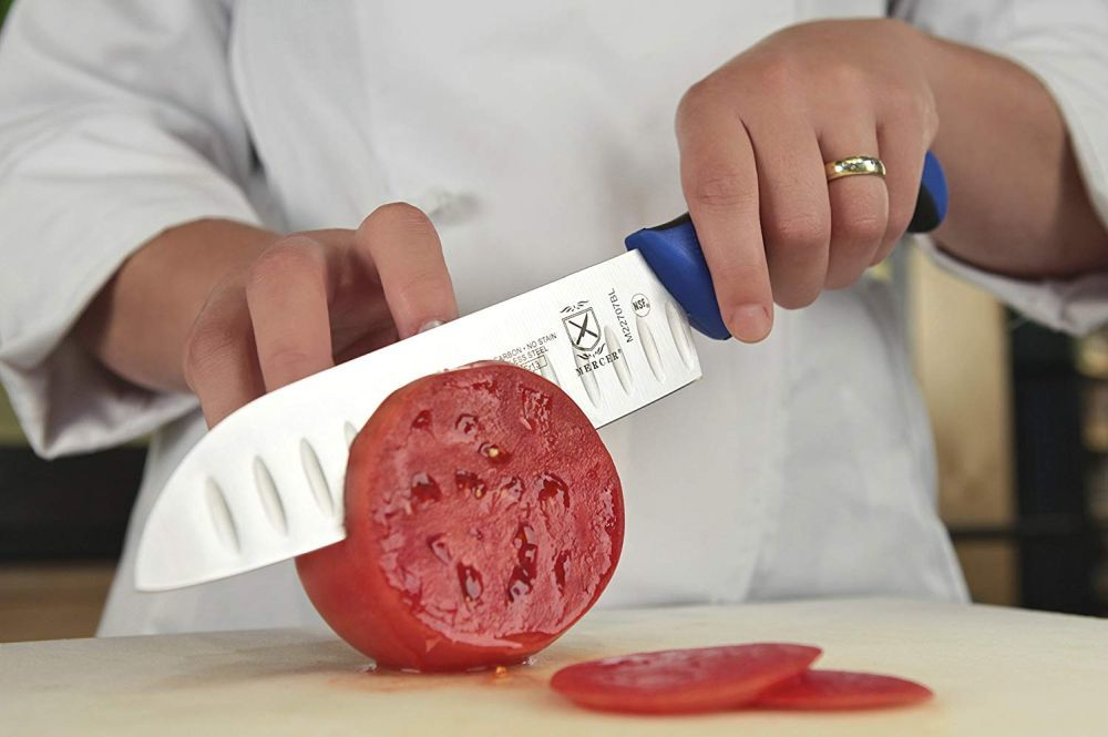 Mercer Culinary Granton Edge Santoku Knife Review