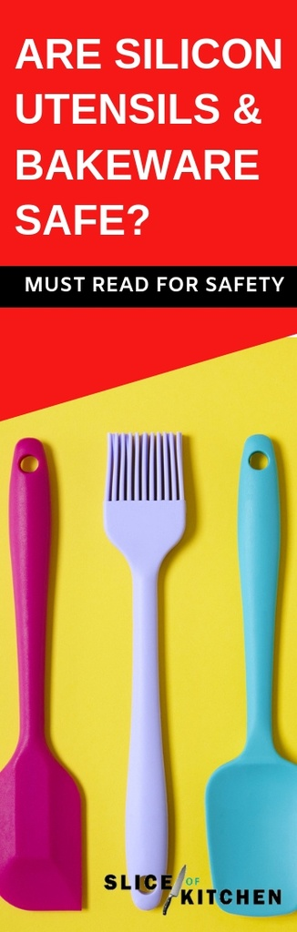 Silicone is a synthetic compound, so you may be wondering just how safe it is to be used in cooking and baking. In this post, I'll look at all the facts and studies concerning silicon utensils and bakeware, and just how safe it is. Silicone utensils and bakeware have been gaining popularity recently due to their versatility and fun colors. Silicone utensils such as spatulas work well with nonstick cookware, and silicone bakeware are favored for their high nonstick quality.