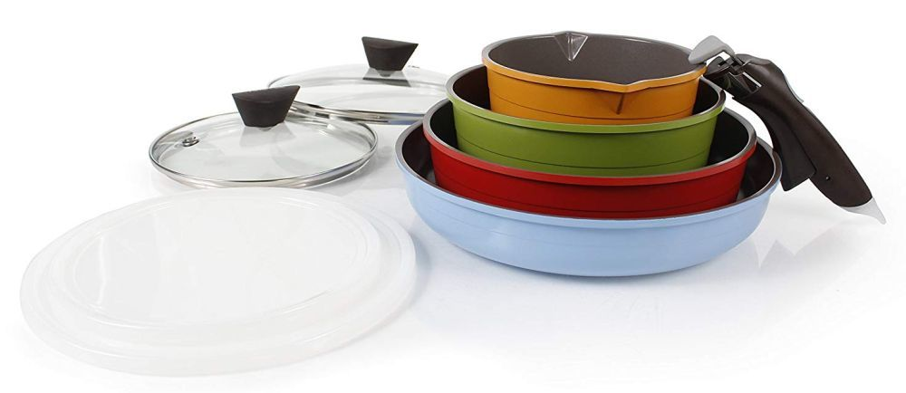 Neoflam Midas Ceramic stackable Cookware review