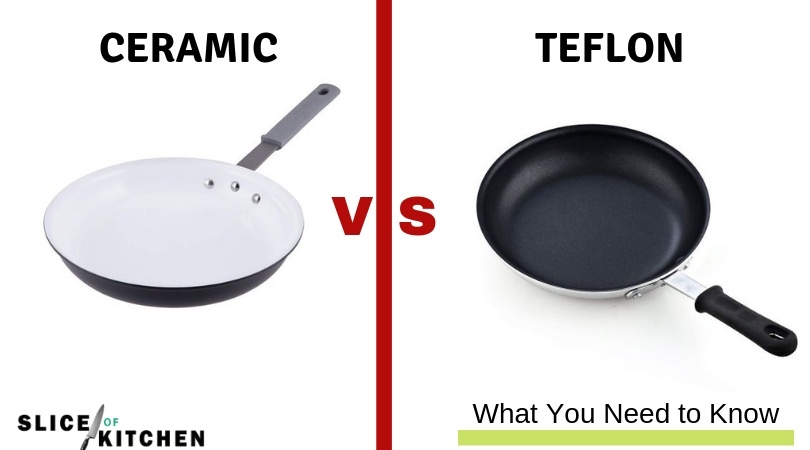 Ceramic vs Teflon for Non Stick