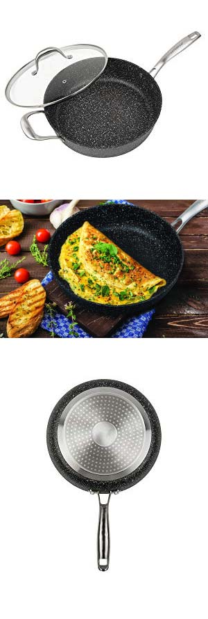 MasterPan Granite Ultra Non-Stick Fry Pan Review Review