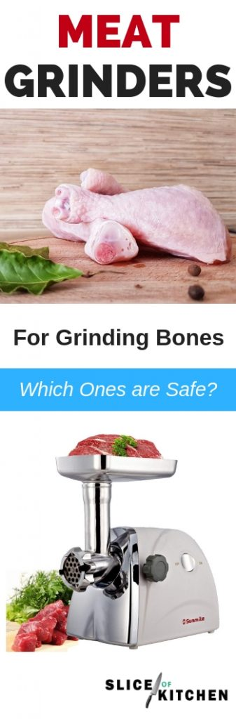 All electric meat grinders can obviously grind meat, though did you know that many will fail when you attempt to grind small animal bones such as chicken?  In this guide I've handpicked 5 of my favorite meat grinders that are powerful enough to grind bones. Use them to grind chopped animal bones to make nutritious raw food for your dogs, bone meals for your plants, and of course all the other delicious ground recipes for your family such as ground burgers.