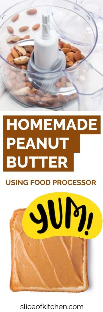 Are you looking to make delicious, healthy peanut butter at home? If so you need a suitable food processor. See which ones are best for peanut butter, almond butter, nutella, and more. #peanutbutter #foodprocessor